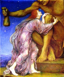 The Worship of Mammon by Evelyn De Morgan